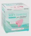Tampones Soft sin Cordón 3 Uds