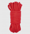 Cuerda de Algodón Color Rojo 10 Metros Bondage