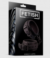 Fetish Esposas para Tobillos Negro