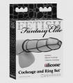 Kit de Anillos y Funda Negro Fetish Fantasy Elite