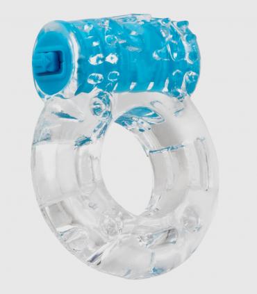 Anillo Screamingo Pop con Bala Vibradora Azul