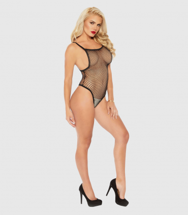 Body de Red  Negro Leg Avenue