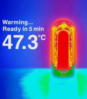 TENGA Flip Zero Red-Calor Envolvente mas Succion